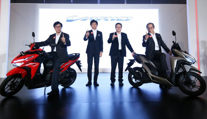 Foto Berita AHM Luncurkan All New Honda Vario 150 dan All New Honda Vario 125