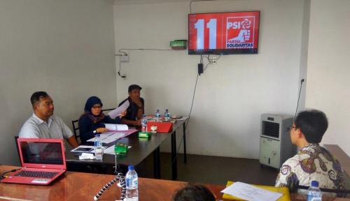 Foto Jelang Pemilu 2019, PSI Sumut Seleksi 90 Bacaleg