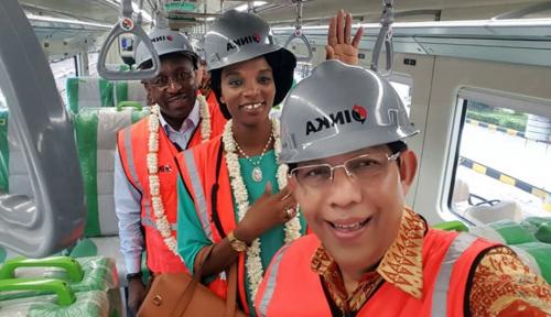 Foto Indonesia Tawarkan Transfer Teknologi KA ke Senegal, Afrika