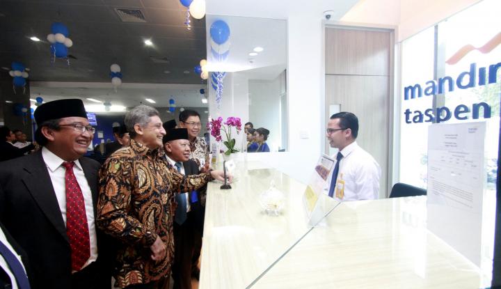 Foto Berita Mandiri Salurkan Rp165 Triliun Bangun Infrastruktur