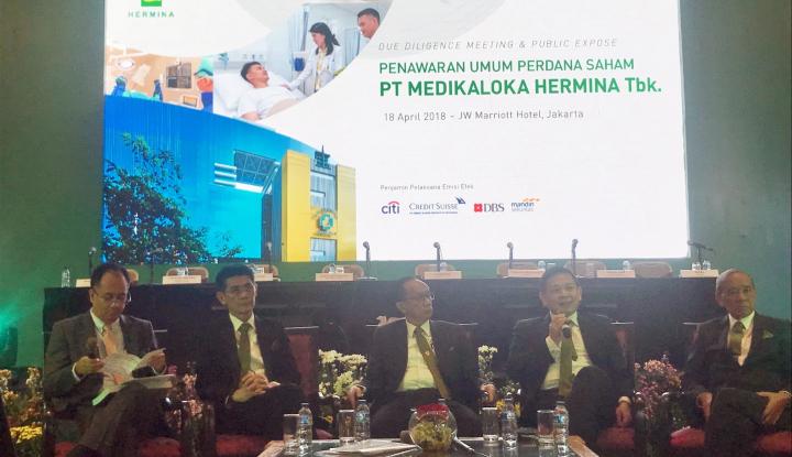 Pemilik RS Hermina Gelontorkan Ratusan Miliar Rupiah Buat Belanja 30 Juta Saham Masyarakat!