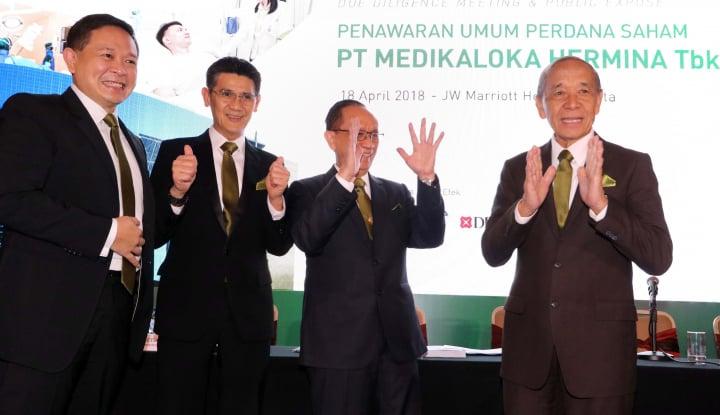 Foto Berita RS Hermina Raih Laba Bersih Rp99,3 Miliar