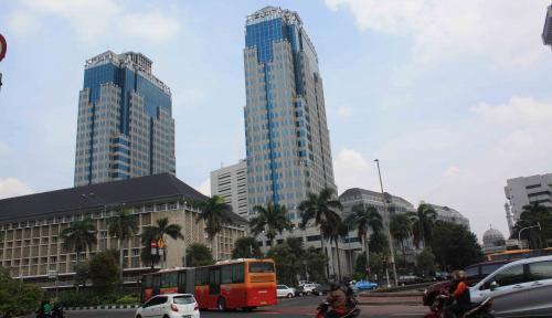 Foto BI: Pertumbuhan Ekonomi di Kuartal I Masih Baik