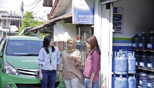 Foto Danone AQUA dan Tokopedia Dorong Pemberdayaan Pengusaha UMKM Perempuan
