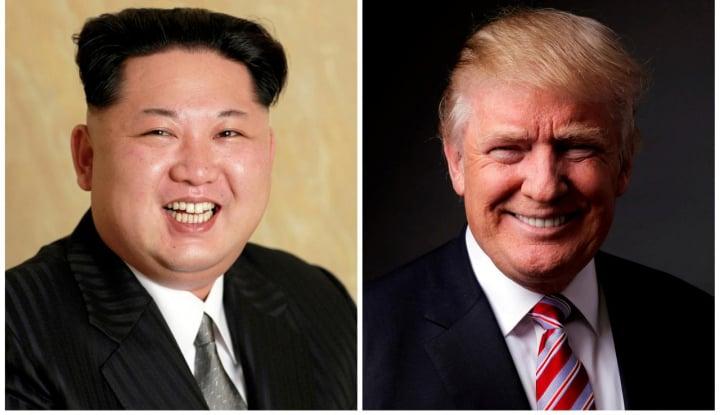 Foto Berita Trump Sebut Pertemuan dengan Kim Jong-un di Singapura Ditunda