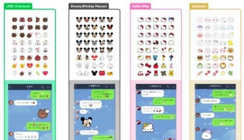 Foto Line Luncurkan Emoji Terbaru, dari Mickey Mouse Hingga Hello Kitty
