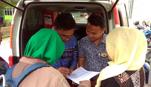 Foto Hari Konsumen Nasional, OJK Sumbagut Tambah Jam Operasional