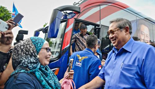 Foto SBY Ngambek, Demokrat Marah sama KPU