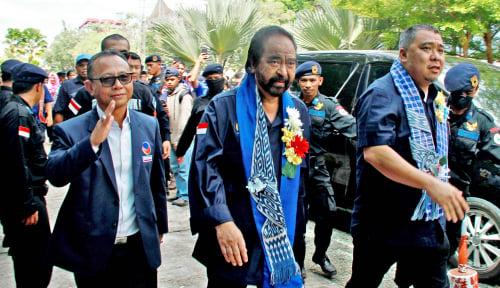 Foto Popularitas Jokowi Tak Bisa Selamatkan Nasdem Lolos PT
