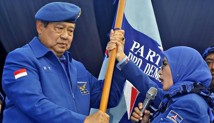 Steven Rumangkang jadi Saksi SBY Lah yang Bikin Lambang dan Bendera Partai Demokrat