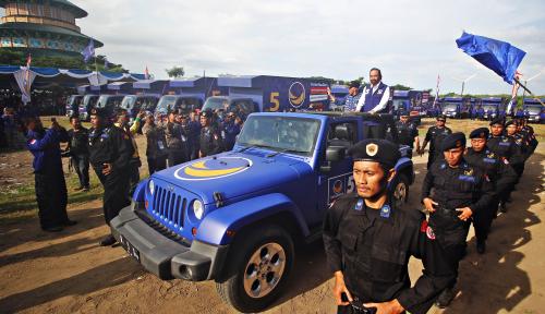 Foto NasDem Daftarkan Total 20.391 Caleg Seluruh Indonesia