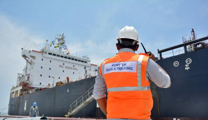 Pembangunan Makassar New Port Tahap Pertama Capai 99% - Warta Ekonomi