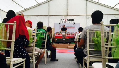 Foto Go-Food Festival di Makassar, Pertama di Luar Jawa