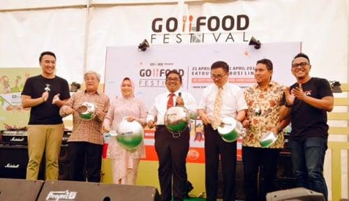 Foto Go-Food Festival Diharapkan Jadi Pusat Wisata Kuliner
