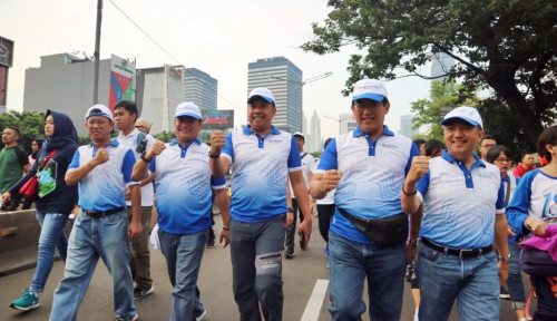 Foto Dirut PNM: Bu Menteri Minta Pegawai Budayakan Hidup Sehat