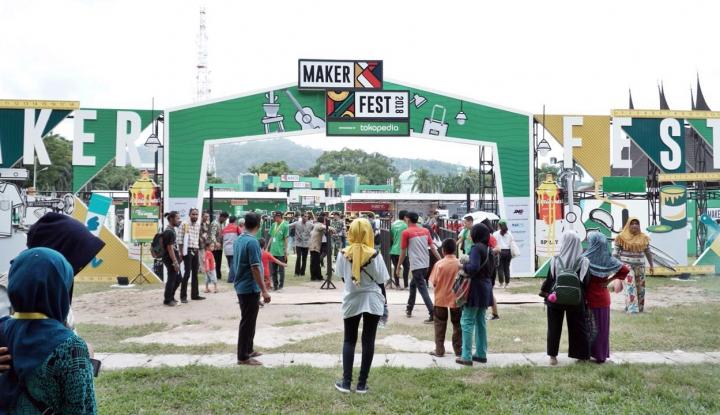 Foto Berita MAKERFEST dan Tokopedia Dorong Kreator Lokal Mendunia