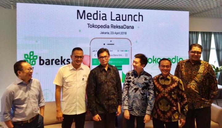 Foto Berita Gandeng Bareksa, Tokopedia Sediakan Fitur Investasi Reksa Dana
