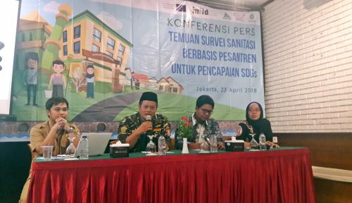 Foto Sanitasi 829 Pesantren di Kabupaten Tangerang Tidak Layak