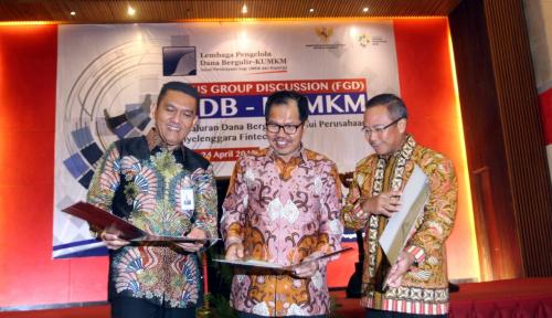 Foto Askrindo Syariah dan LPDB KUKM Jalin Kerja Sama Pembiayaan