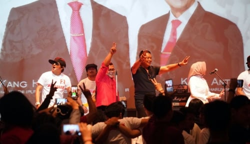 Foto Kang Hasan Optimistis Raih 60 Persen Suara Depok