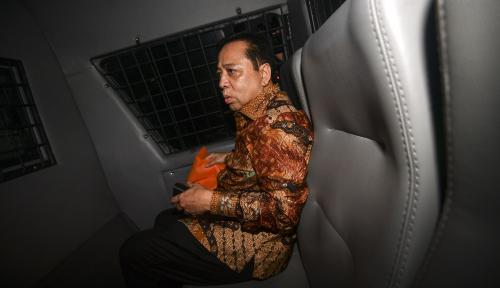 Foto Cerita Novanto Soal Kamar Tidurnya di Sukamiskin, Boleh Percaya!