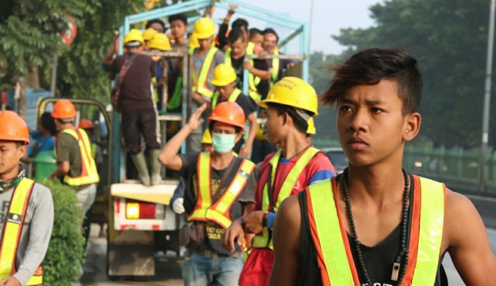 Duh, Daya Beli Buruh Bangunan Anjlok - Warta Ekonomi