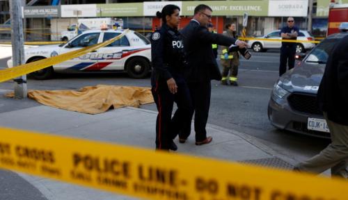 Foto Teror Landa Kanada, 10 Orang Tewas 15 Lainnya Terluka