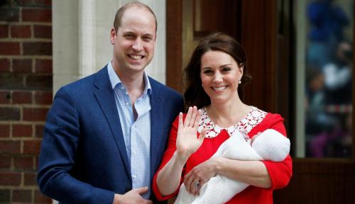Foto Yeay! Kate Middleton-Pangeran William Dikaruniai Anak Ketiga