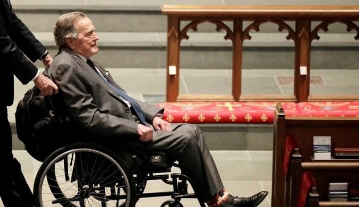 Mantan Presiden AS Ke-41, George H.W. Bush Meninggal Dunia di Usia 94 - Warta Ekonomi