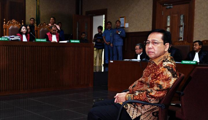 Foto Papa Novanto Divonis 15 Tahun Penjara