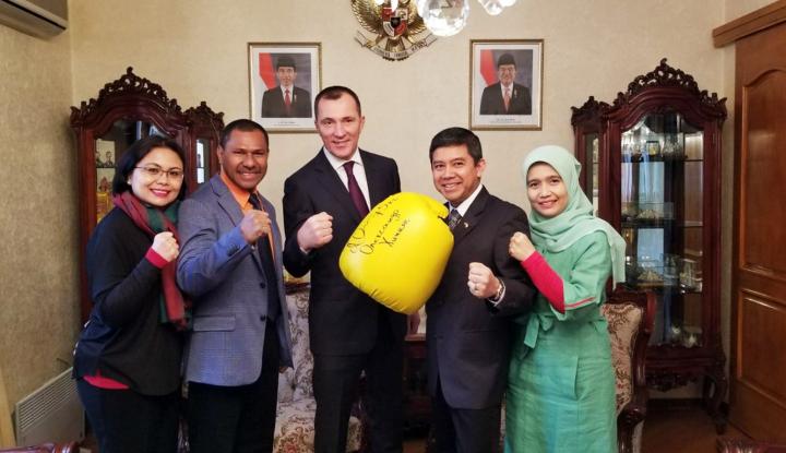 Foto Berita Mengintip Perjuangan Enam Atlet Tinju Indonesia di Ukraina