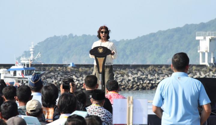 Foto Berita Menteri Susi: Pengelolaan Keramba Jaring Apung Libatkan Koperasi dan BUMN