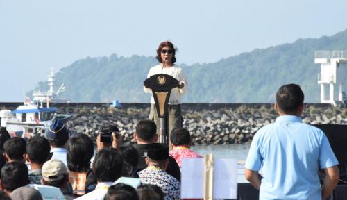 Foto Menteri Susi: Pengelolaan Keramba Jaring Apung Libatkan Koperasi dan BUMN