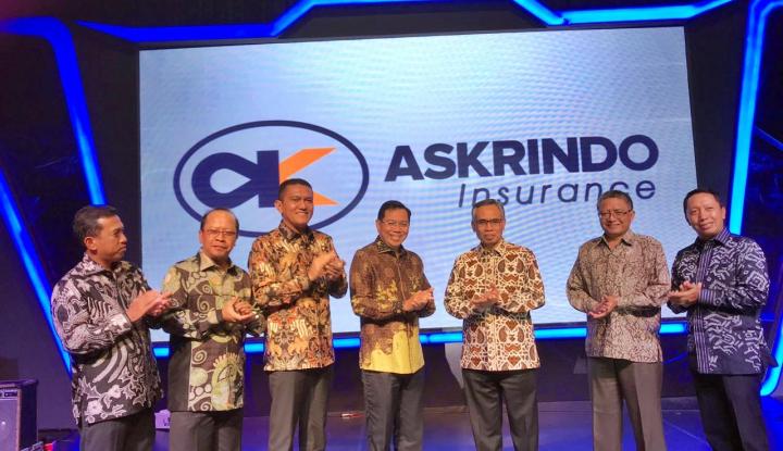 Foto Berita Askrindo Resmi Luncurkan Logo Baru