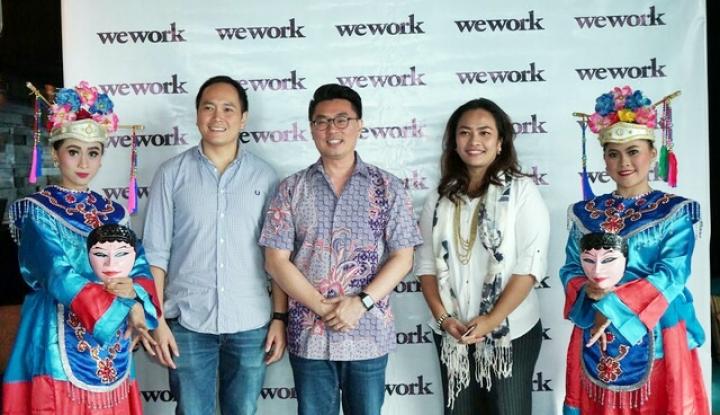 Foto Berita WeWork Lebarkan Sayap ke Indonesia