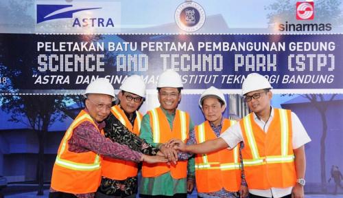 Foto Gandeng Sinar Mas dan Astra, ITB Bangun Science and Techno Park