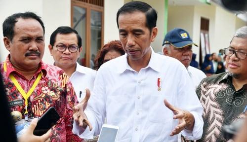 Foto Jokowi: Dana Rp187 T Harus Berputar di Desa