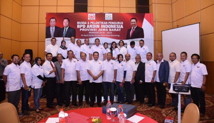 Foto Berita Bamsoet Minta Ardin Bantu Pemerintah Pusat dan Daerah