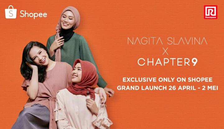 Foto Berita Produk Fesyen Nagita Slavini Kini Ada di Shopee