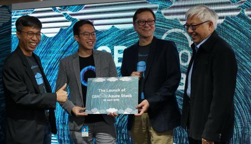 Foto Luncurkan Azure Stack, CBNCloud Targetkan Pertumbuhan Hingga 100%