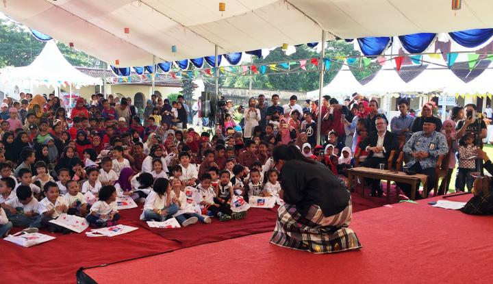 Foto Berita PT Bank HSBC dan British Council Dukung Gerakan Literasi di Makassar