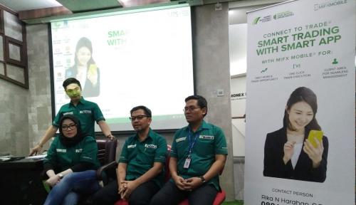 Foto Monex Kenalkan Aplikasi Trading Mobile di Medan
