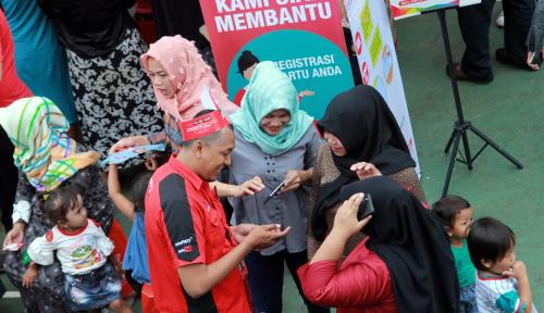 Foto Di Palembang, Telkomsel Gelar Ramadan Fair 2018
