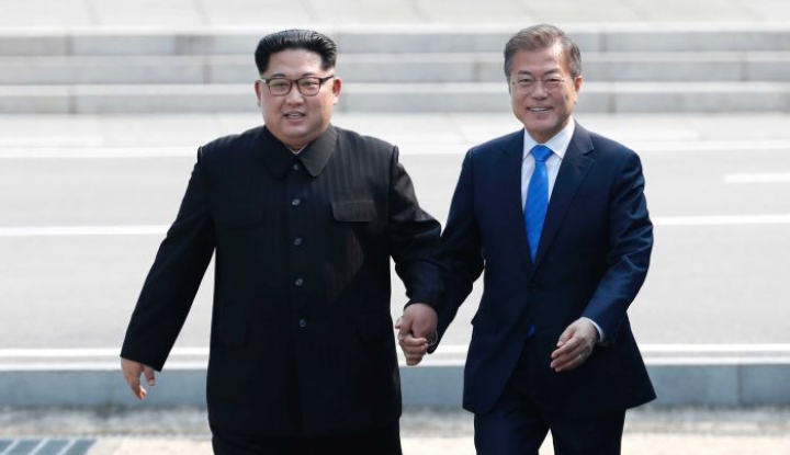 Foto Berita Pertemuan Kim Jong Un dan Trump Terancam Batal, Korsel Tawarkan Jadi Mediator