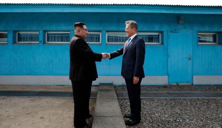 Foto Berita Kantor Penghubung Korea Utara-Korea Selatan Dibuka