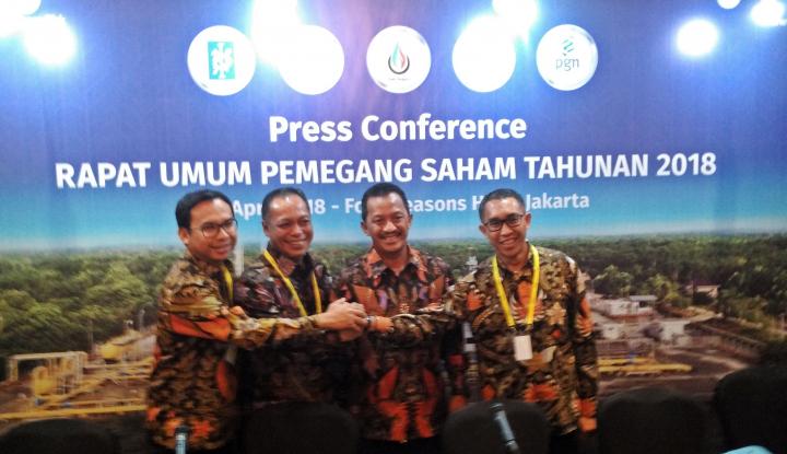 Foto Berita PGN Bagikan Dividen Rp766,27 Miliar