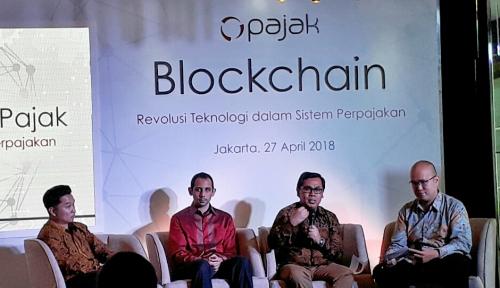 Foto Menkominfo Jamin Keamanan Penerapan Blockchain OnlinePajak