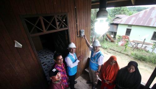 Foto Hore!! 1.520 Desa di Kaltimra Sudah Berlistrik