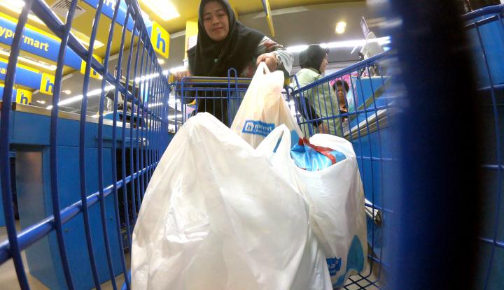 20 Ribu Tas Kertas Berlogo BPN Prabowo-Sandi Disebar ke Seluruh Pasar Tradisional Jakarta - Warta Ekonomi