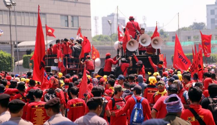 Foto Berita Karyawan BUMN Juga Ikut Rayakan Hari Buruh?